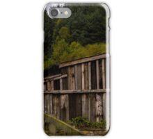 empty wooden shack iPhone Case/Skin