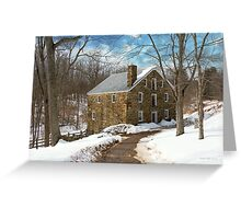 Mill - Cooper grist mill Greeting Card