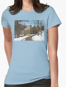 Mill - Cooper grist mill Womens Fitted T-Shirt