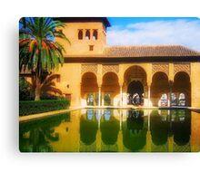 The Magic of Alhambra Canvas Print