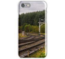 deserted railway iPhone Case/Skin