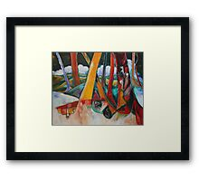 Beyond The Yellow Brick Road 2012 Framed Print