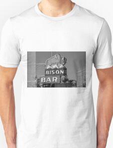 Miles City, Montana - Bison Bar T-Shirt