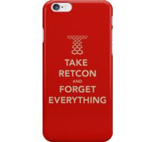 Take Retcon iPhone Case/Skin