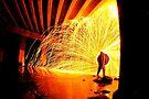 Fire Wind Water by JAZ art