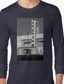 Miles City, Montana - Theater Marquee Long Sleeve T-Shirt