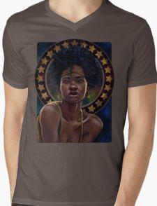 Nouveau Stars Mens V-Neck T-Shirt