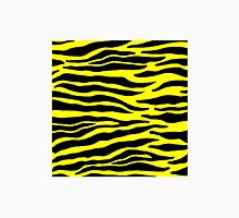 Tiger Print - Yellow Unisex T-Shirt