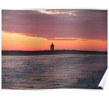 Sunrise at Cape Cod Poster