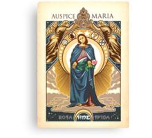 Auspice Maria - Mary Nouveau Canvas Print