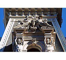 Statuary-Philadelphia City Hall Photographic Print