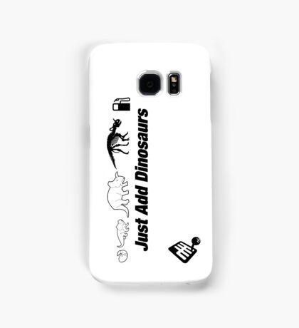 Just Add Dinosaurs Samsung Galaxy Case/Skin