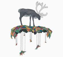 Reindeer colors Kids Tee