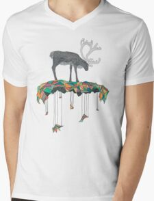 Reindeer colors Mens V-Neck T-Shirt