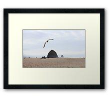 Astoria Oregon Goonies Rocks Framed Print