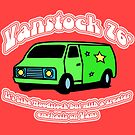Van Stock 76&#x27; in Red with White by HighDesign