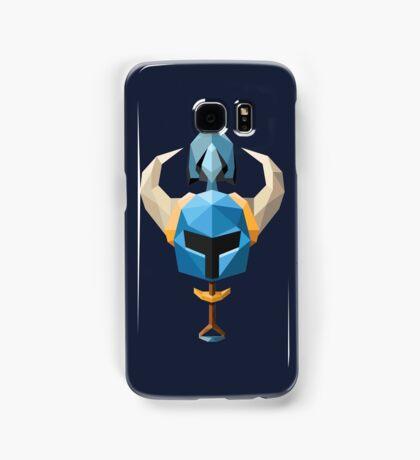 Low-Poly Shovel Knight Samsung Galaxy Case/Skin