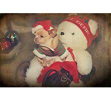 Christmas Zoe Photographic Print