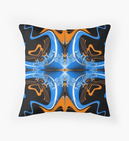 Mirrored... Throw Pillow