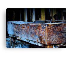 Artistic Old Mining Equipment Canvas Print