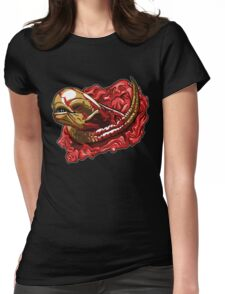 Chestburster B Womens Fitted T-Shirt