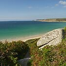 The Turquoise Waters of Cornwall by Kat Simmons