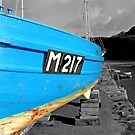 Blue Boat by Neil Evans