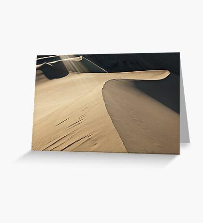 Eureka Sand Dune Greeting Card