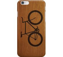Bike ~ Wood Silhouette iPhone Case/Skin