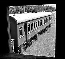 Derelict Carriage. Photographic Print