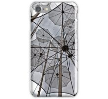 FREEDOM SURREAL FLYING UMBRELLAS iPhone Case/Skin