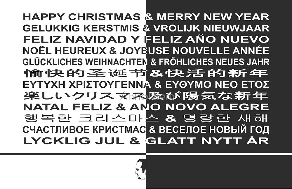 Happy Christmas & Merry New Year! by AnnoNiem