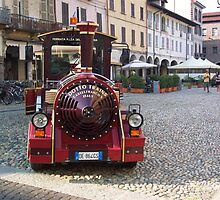 Dotto Train - Pavia, Italy  by Mary Sedici