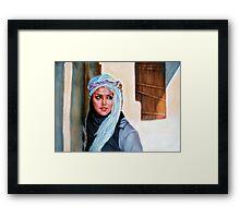 A beautiful Arabian Framed Print
