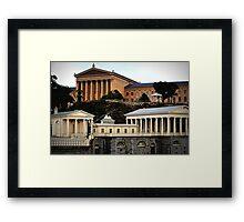 Museum of Art-Philadelphia Framed Print