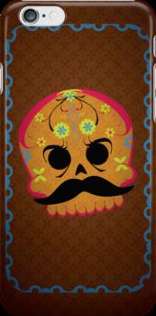 Dia de Los Muertos ~ Skull by hmx23