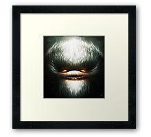 Little Evil Framed Print