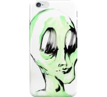 This Alien is Green And So Am I iPhone Case/Skin