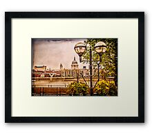 View on St Paul`s Cathedral  Framed Print