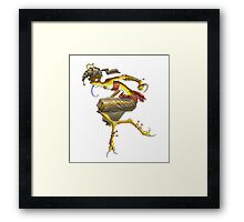 Serpent Song: Stheno Framed Print