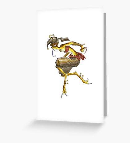 Serpent Song: Stheno Greeting Card