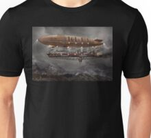 Steampunk - Blimp - Airship Maximus  Unisex T-Shirt