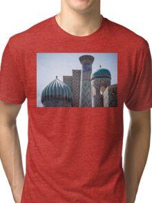 Architecture of Uzbekistan Tri-blend T-Shirt
