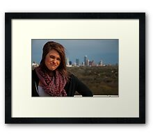 Your Face will Get Stuck like That Framed Print