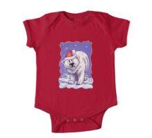 Polar Bear Christmas One Piece - Short Sleeve