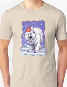 Polar Bear Christmas Unisex T-Shirt