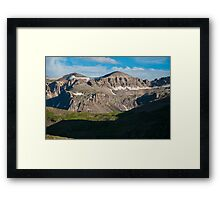 Looking Across Yankee Boy Basin Framed Print