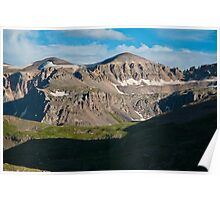 Looking Across Yankee Boy Basin Poster