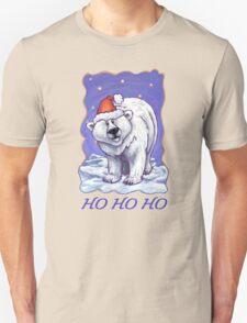 Polar Bear Christmas Card Unisex T-Shirt