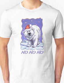Polar Bear Christmas Card T-Shirt